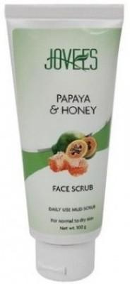 Jovees Facial Scrub - Papaya & Honey (Pack of 2) Scrub