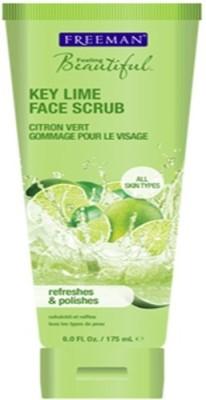 Freeman Feeling Beautiful Key Lime Face Scrub With Ayur Soap Scrub
