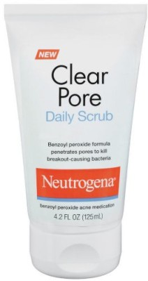 Neutrogena Clear pore Daily Scrub(125 ml)