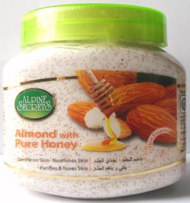 Alpine Secrets Almond with Pure Honey Scrub