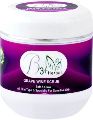 B 3+ Herbal Grape Wine Scrub