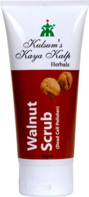 Kulsum's Kaya Kalp Walnut  Scrub