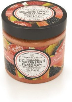 Somerset tropical fruits strawberry & papaya sugar scrub Scrub(550 g)