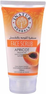 Inatur Herbals Apricot Face  Scrub