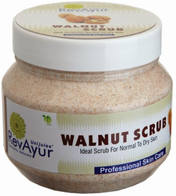 RevAyur Walnut  Scrub