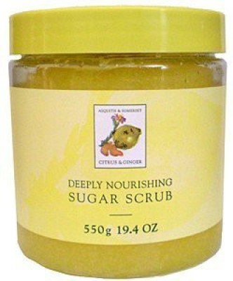 Asquith & Somerset citrus & ginger exfoliating sugar scrub Scrub