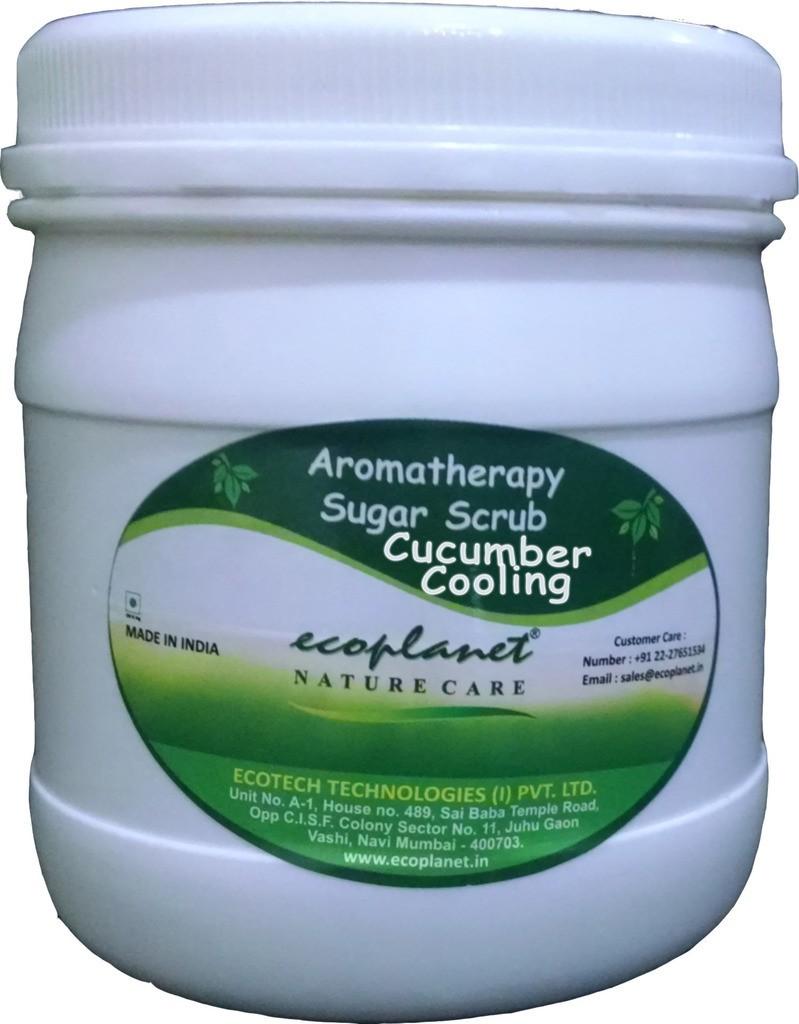 Ecoplanet Aromatherapy Sugar Base Cucumber Cooling Scrub(1000 g)