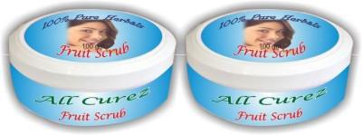 All Curez Fruit Scrub (Set Of 2) Scrub