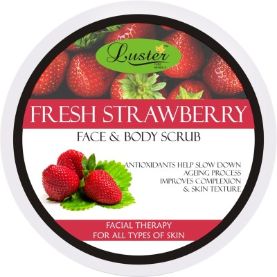Luster Fresh Strawberry Face & Body Scrub