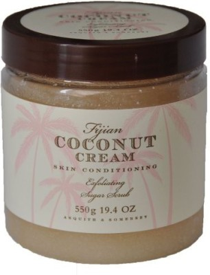 Asquith & Somerset fijiian coconut cream exfoliating sugar scrub Scrub