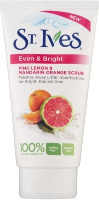 St. Ives Even & Bright Pink Lemon & Mandarin Orange Scrub(169 ml)