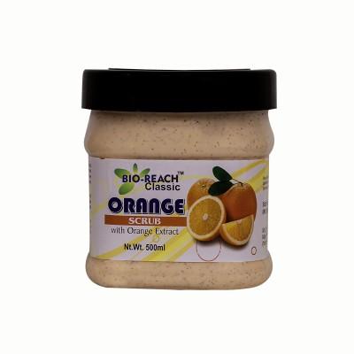 Bio-Reach Orange Face  Scrub