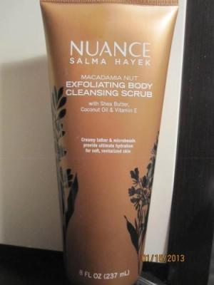 Nuance Exfoliating Body Cleansing  Scrub