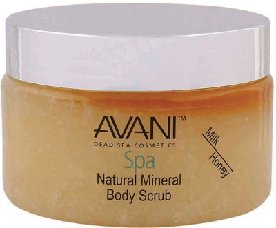 Avani Milk Honey Body  Scrub