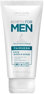 Oriflame Sweden North For Men Fairness Face Wash &  Scrub