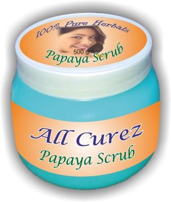 All Curez Papaya Scrub (500 g) Scrub