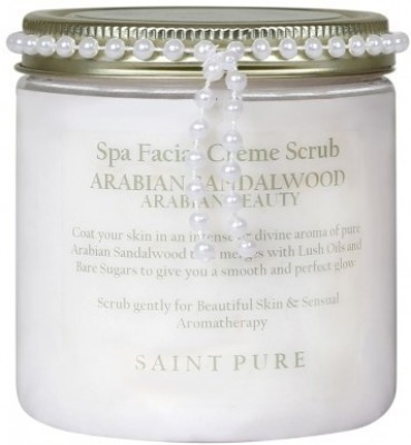 Saint Pure Arabian Sandalwood Spa Facial Crème  Scrub