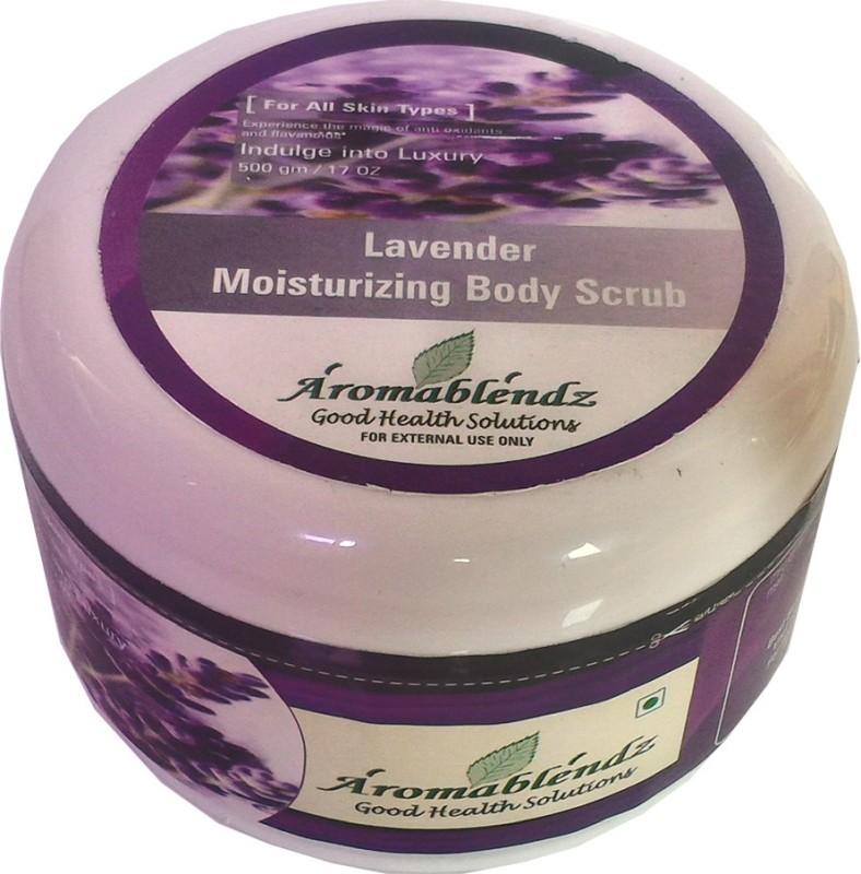 Aromablendz Lavender Body Scrub(500 g)