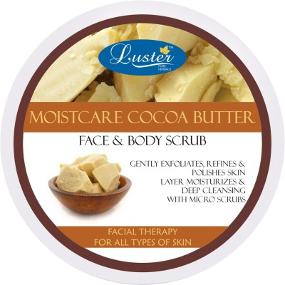 Luster Moistcare Cocoa Butter Face & Body Scrub
