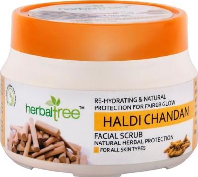 Herbal Tree Haldi Chandan  Scrub