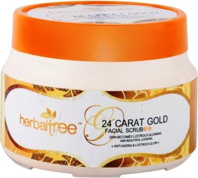 Herbal Tree 24CT Gold  Scrub
