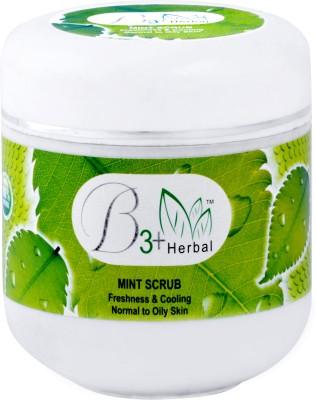 B 3+ Herbal Mint  Scrub