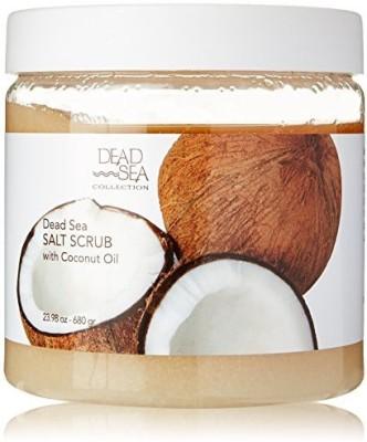 Dead Sea Premier dead sea salt scrub & coconut oil 23.98 oz Scrub