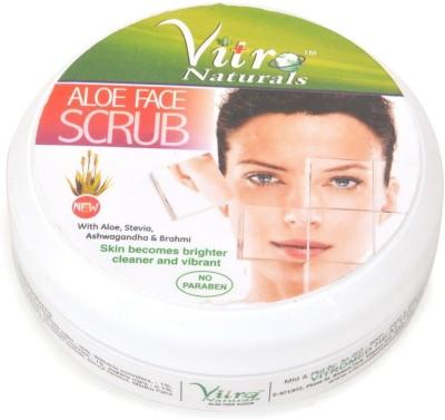 Vitro Naturals Aloe Face Scrub(100 g)