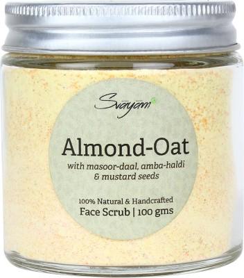 SVAYAM NATURAL Almond Oat  Scrub