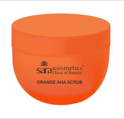 Sara Orange AHA  Scrub