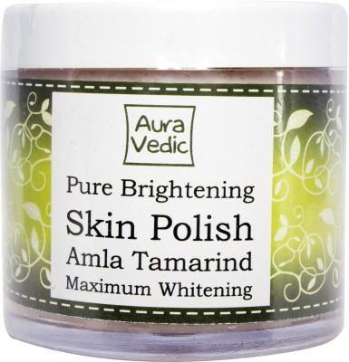 Auravedic Pure Brightening Skin Polish with Amla Tamarind Scrub