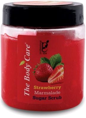 the body care Strawberry marmalade sugar Scrub