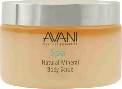 Avani Dead Sea Cosmetics - Natural Mineral Body Scrub - Milk & Honey Scrub
