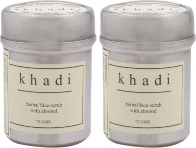 Khadi Natural Almond Pack Of 2 Scrub