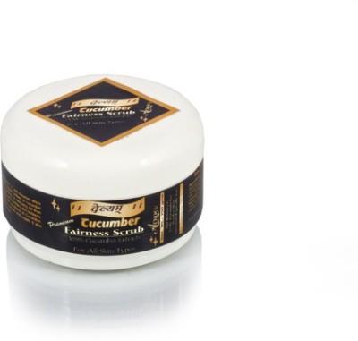 Adidev Herbals Devyam Skin Brightening Cucumber Fairness  Scrub