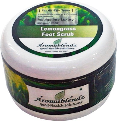 Aromablendz Lemongrass Foot Scrub
