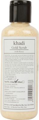 Khadi Manav Herbal Gold with Rose Scrub