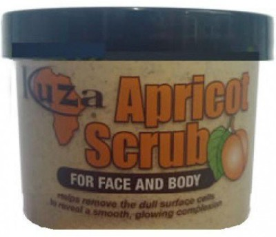 Kuza apricot scrub for face and body Scrub