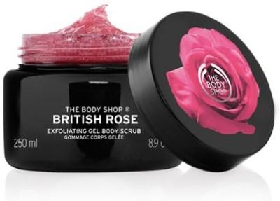 The Body Shop British Rose Body Scrub(250 ml)