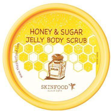Skin Food Body Scrub (honey & Sugar Jelly Body Scrub) Scrub(200 g)
