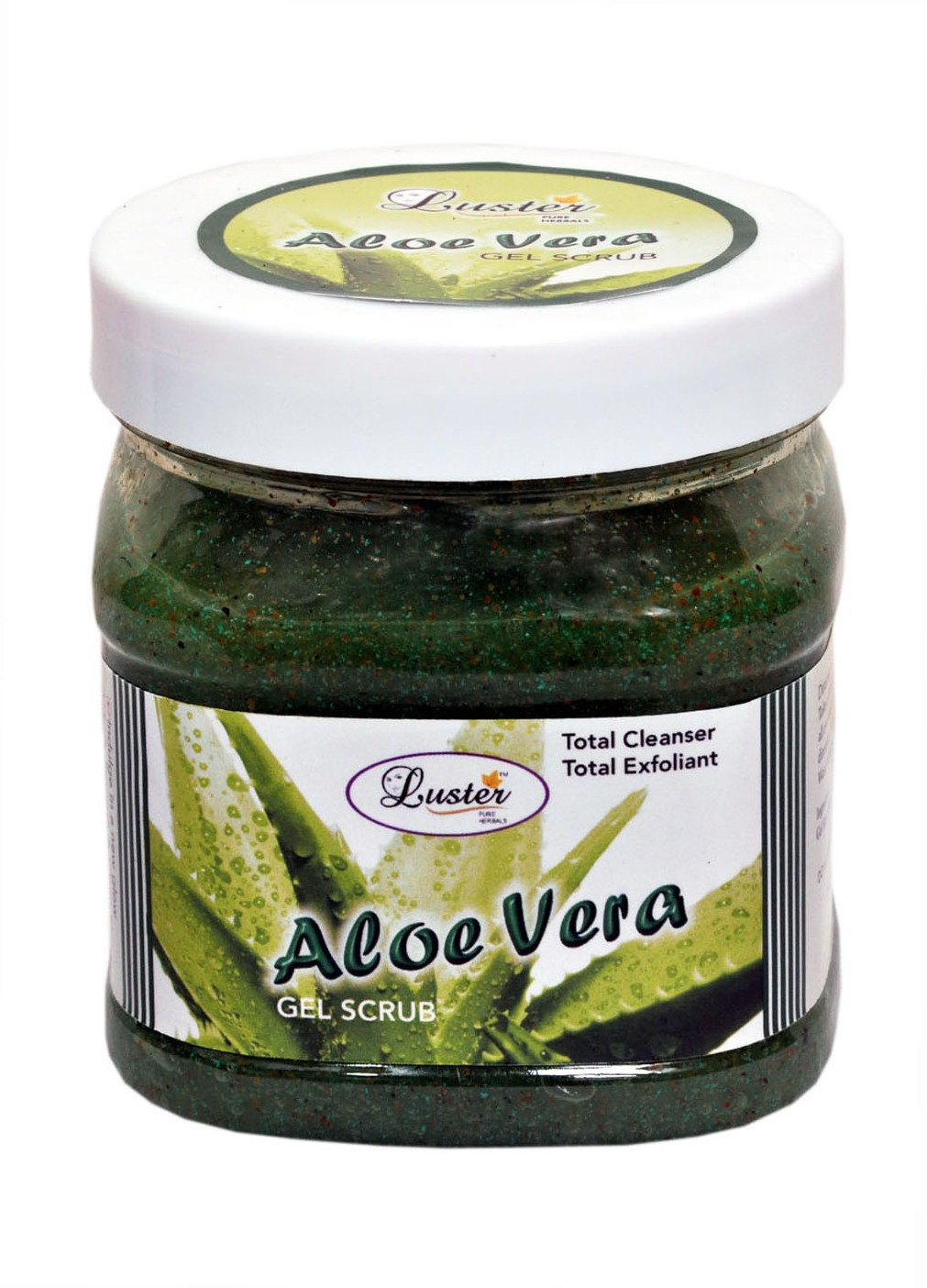 Luster Aloe Vera Face & Body Scrub(500 ml)