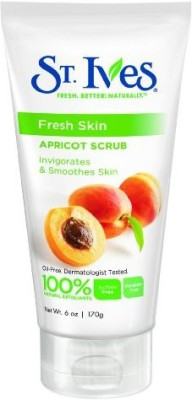 St. Ives fresh skin apricot scrub, 6 ounce (pack of 6) Scrub