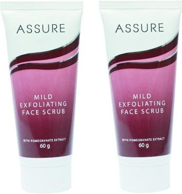 Assure Mild Exfoliating (Pack of 2) Face Scrub