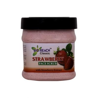 Bio Reach Strawberry Face  Scrub