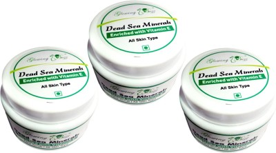 Glowing Buzz Pack of 3 Sea Minerals Enriched with Vitamin E  Scrub