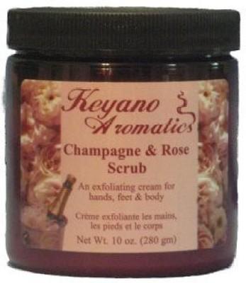 Keyano aromatics champagne & rose scrub 10 oz Scrub