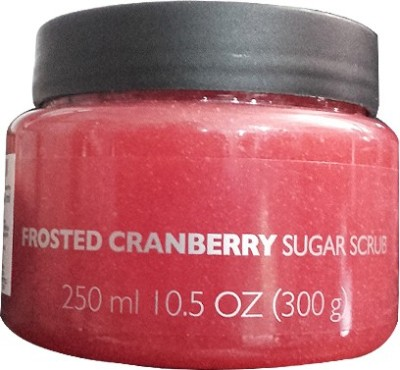 The Body Shop Frosted Cranberry Sugar  Scrub
