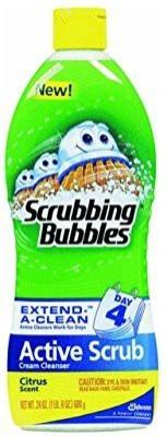 Scrubbing Bubbles active scrub, citrus, 24 fluid ounce Scrub