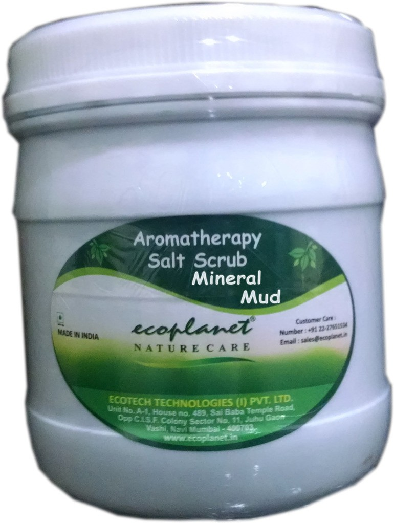 Ecoplanet Aromatherapy Salt Base Mineral Mud Scrub(1000 g)