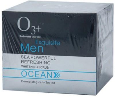 O3+ Exquisite Men Ocean Sea Powerful Refreshing Whitening  Scrub